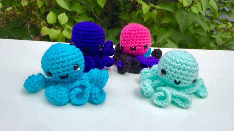 Kawaii Octopus Crochet Pattern