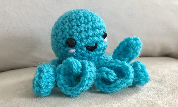 Free (Crochet) Pattern Friday! Octopus Amigurumi | Choly Knight | 452x750