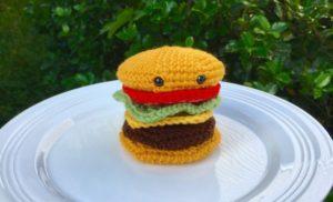 Amigurumi Cheeseburger Crochet Pattern