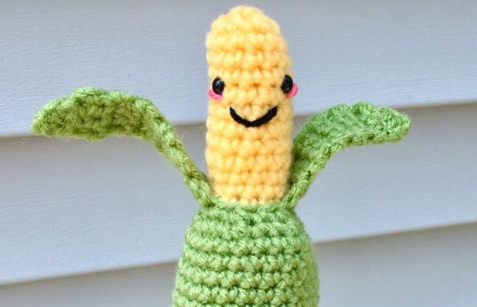 Amigurumi Corn on the Cob Crochet Pattern