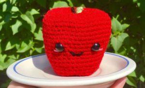 Amigurumi Apple Crochet Pattern