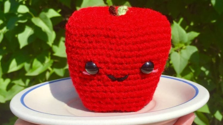 Amigurumi Apple Crochet Pattern
