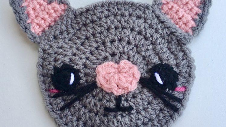 Kitty Applique Crochet Pattern