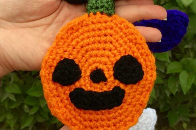 Halloween Scarf CAL (Crochet-Along) Part 1 – Pumpkin!