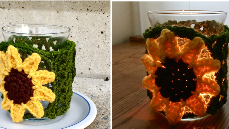 Sunflower Candle Sweater / Cozy