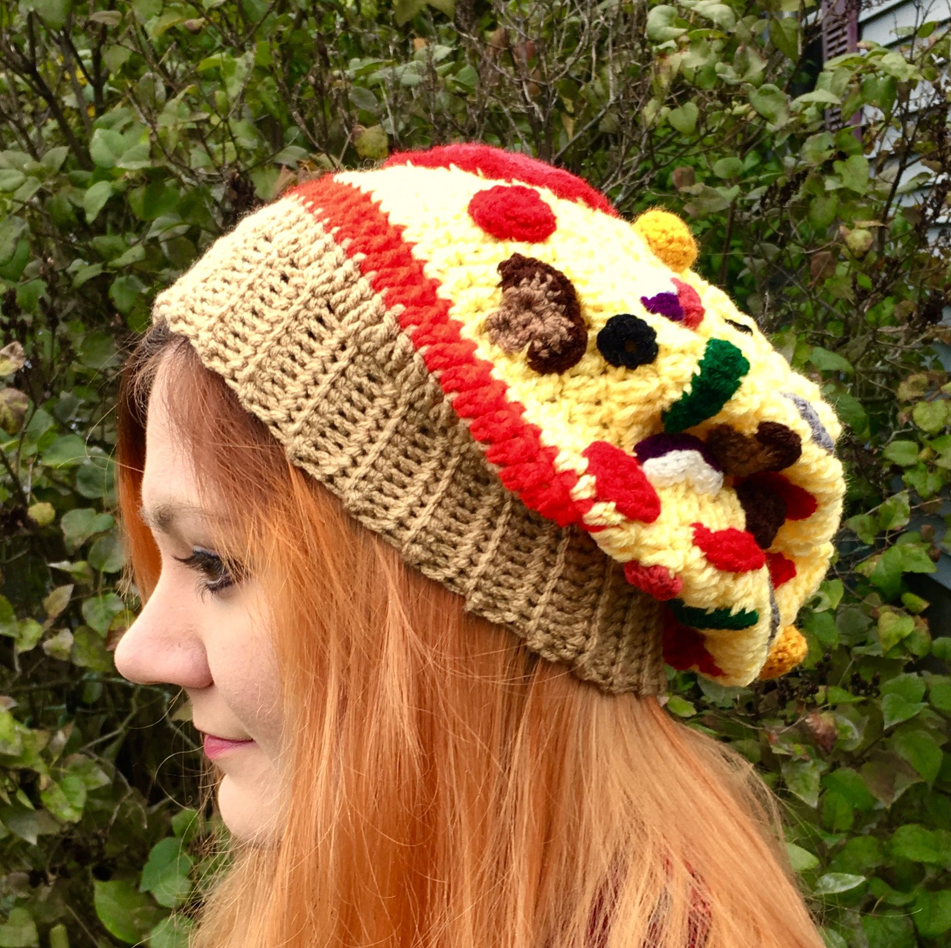 "Extra Toppings! How to Make Your Pizza Slouchy Hat into an ""Everything"" Pizza"