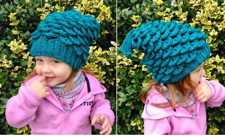 Mermaid Slouchy Hat Crochet Pattern – Kids Edition!