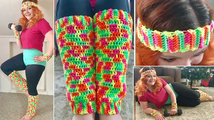 80's Workout Gear Crochet Pattern – Start Your New Year Right!