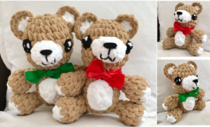 Kawaii Teddy Bear Crochet Pattern