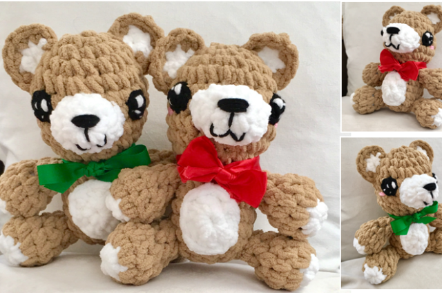 Kawaii Teddy Bear Crochet Pattern