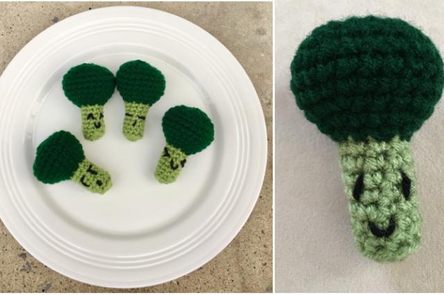 Amigurumi Broccoli Crochet Pattern