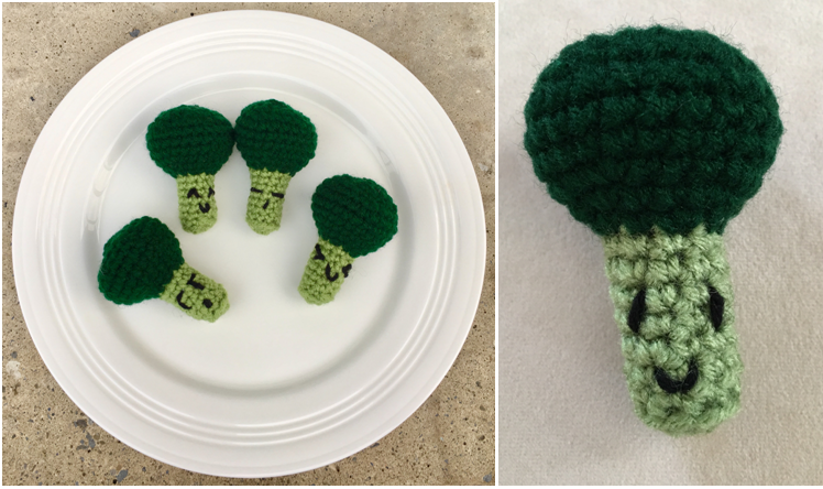 Amigurumi Broccoli Crochet Pattern