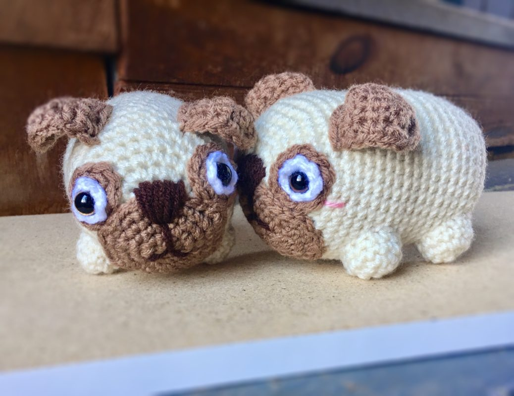 Baby Pug Dog amigurumi pattern - Amigurumi Today | 800x1038