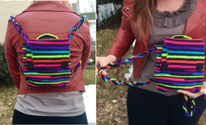 Tokyo Lights Backpack Crochet Pattern