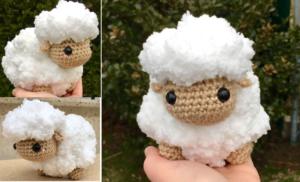 Amigurumi Little Lamb Crochet Pattern