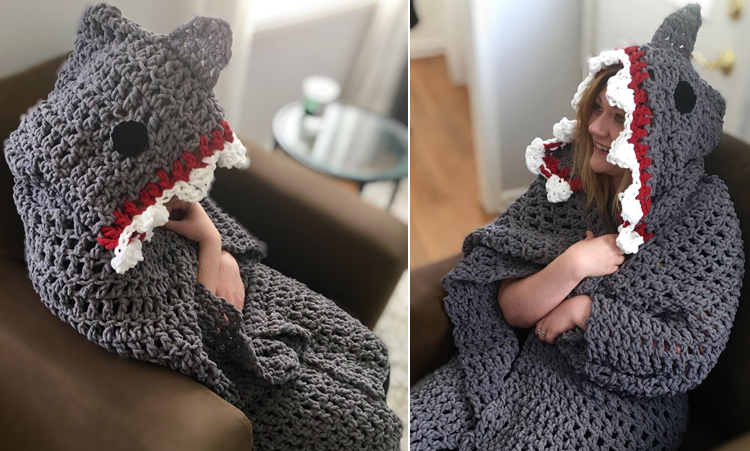 PATTERN: Shawn the shark Crochet shark pattern amigurumi | Etsy | 451x750