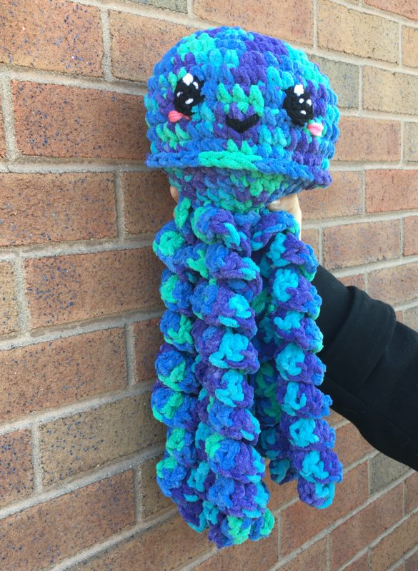 Curly Jellyfish Amigurumi Free Crochet Patterns | 800x585