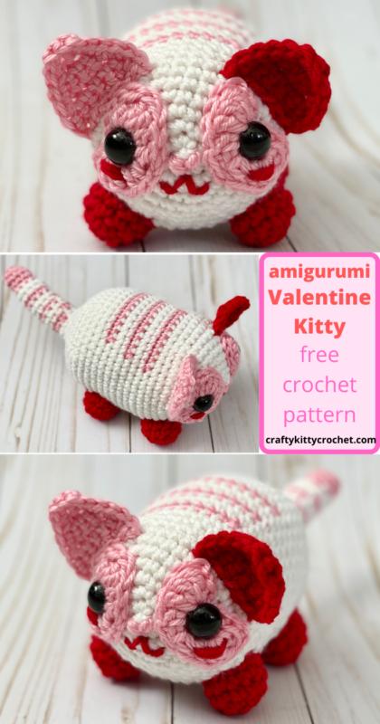 Lying kitten amigurumi pattern - Amigurumi Today | 800x420