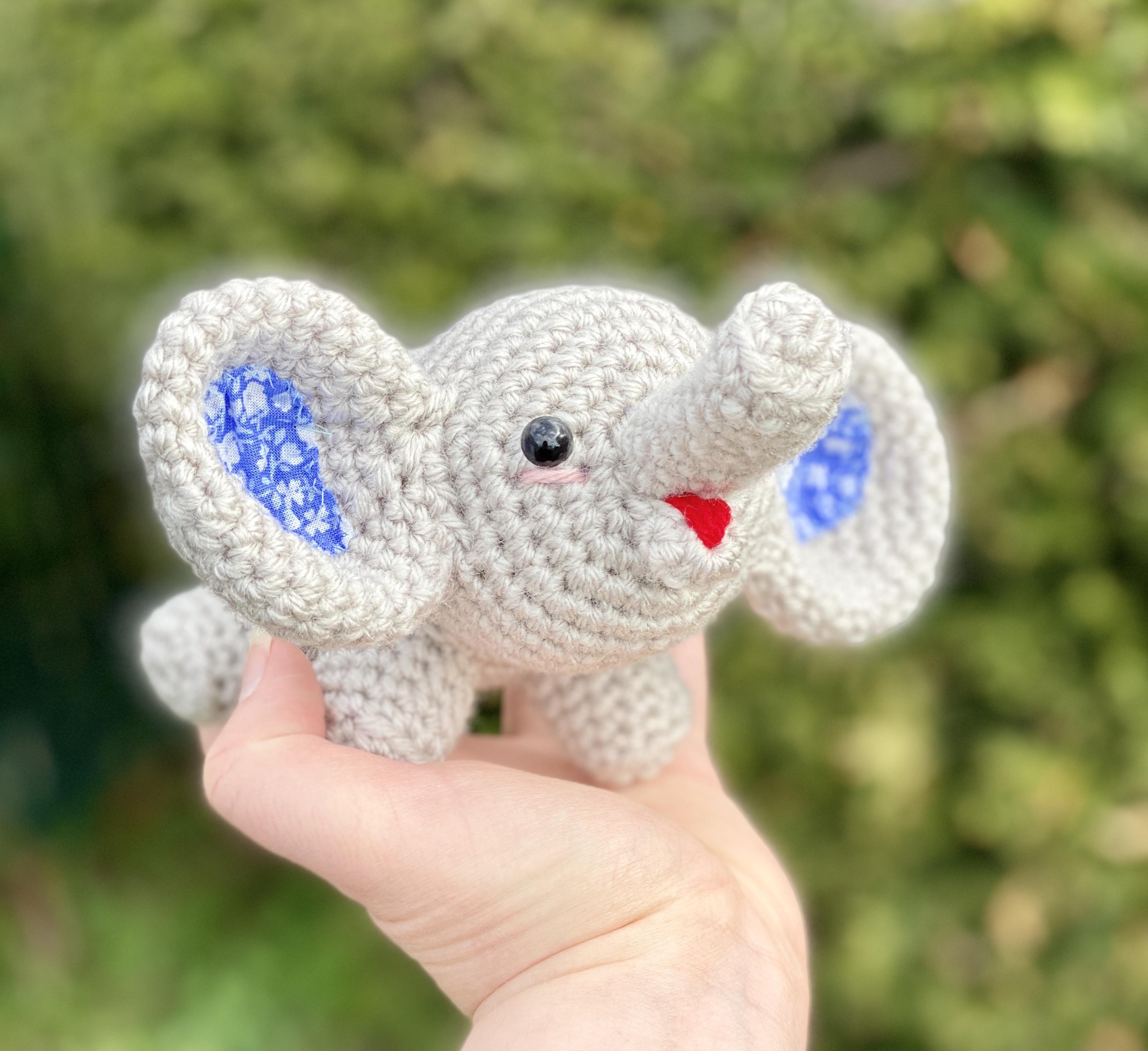 Elephant crochet hat-free pattern | jennyandteddy | 2768x3024